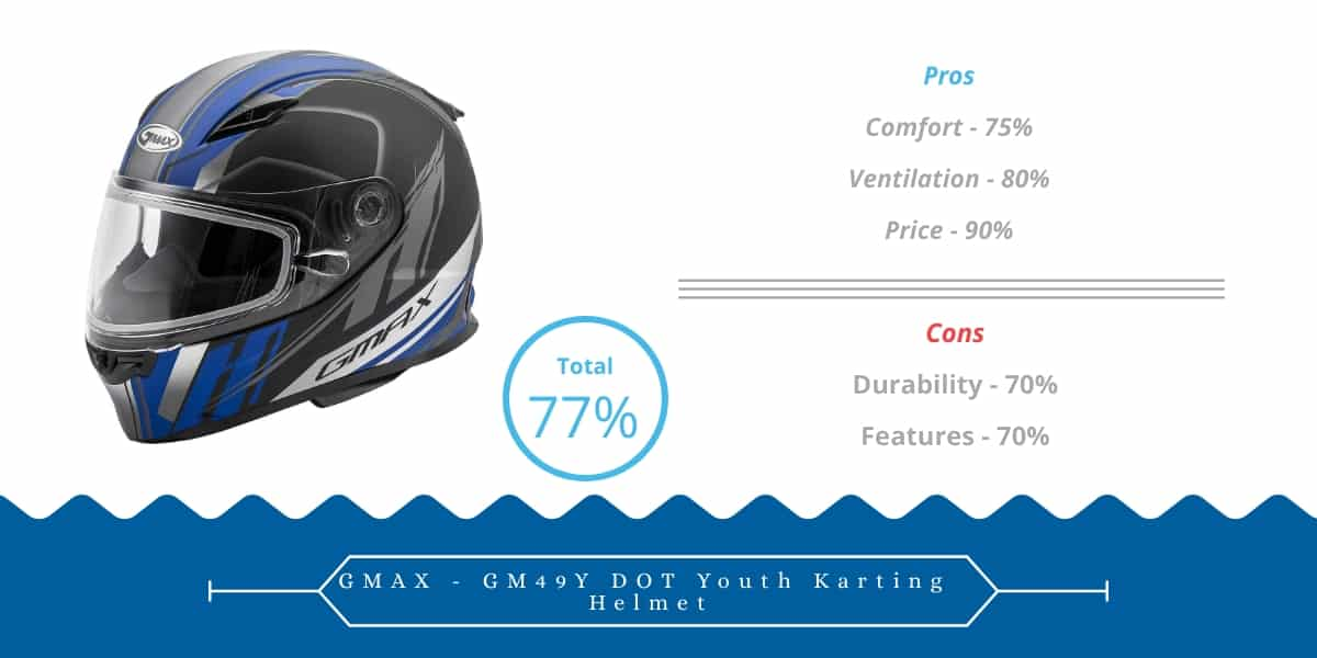 Best Go-Kart Helmet for 10-Year-Old