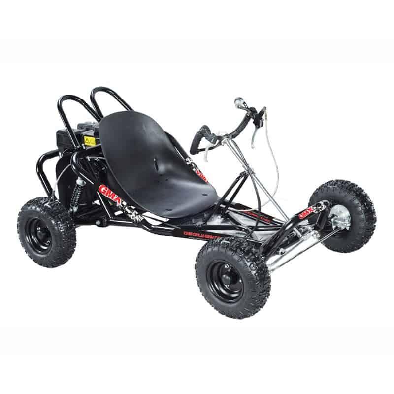 GMX Drift 200cc Go Kart - Black