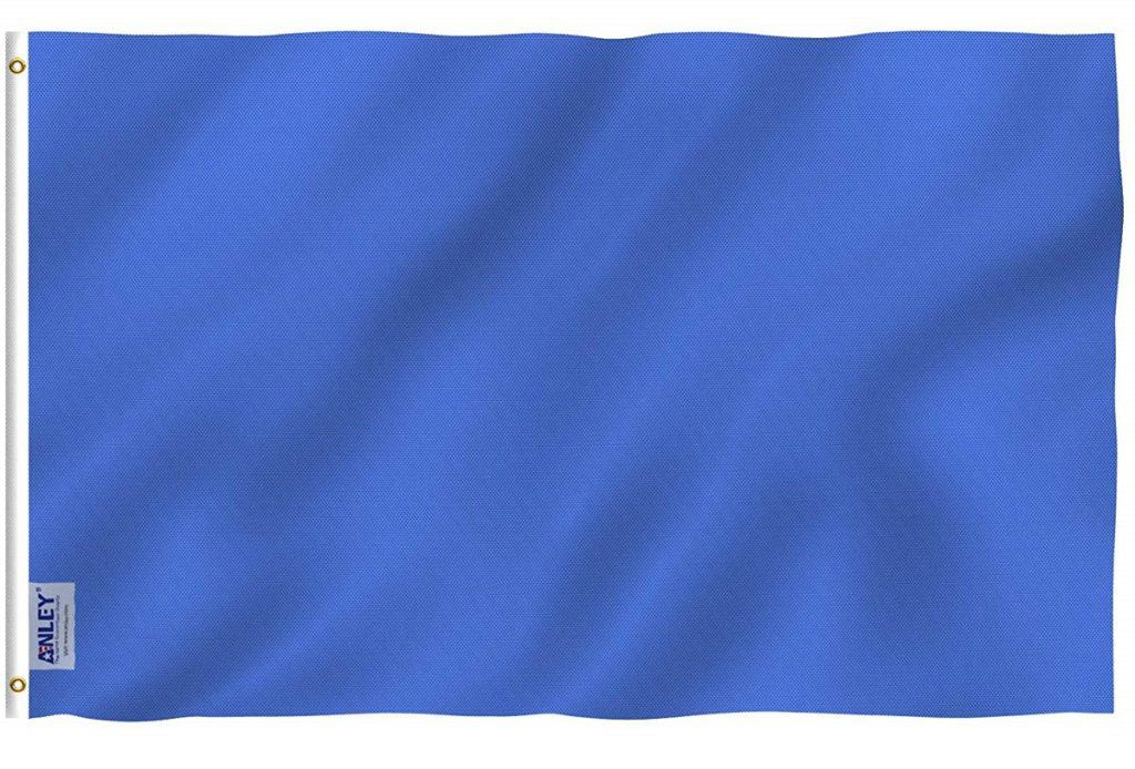 blue racing flag