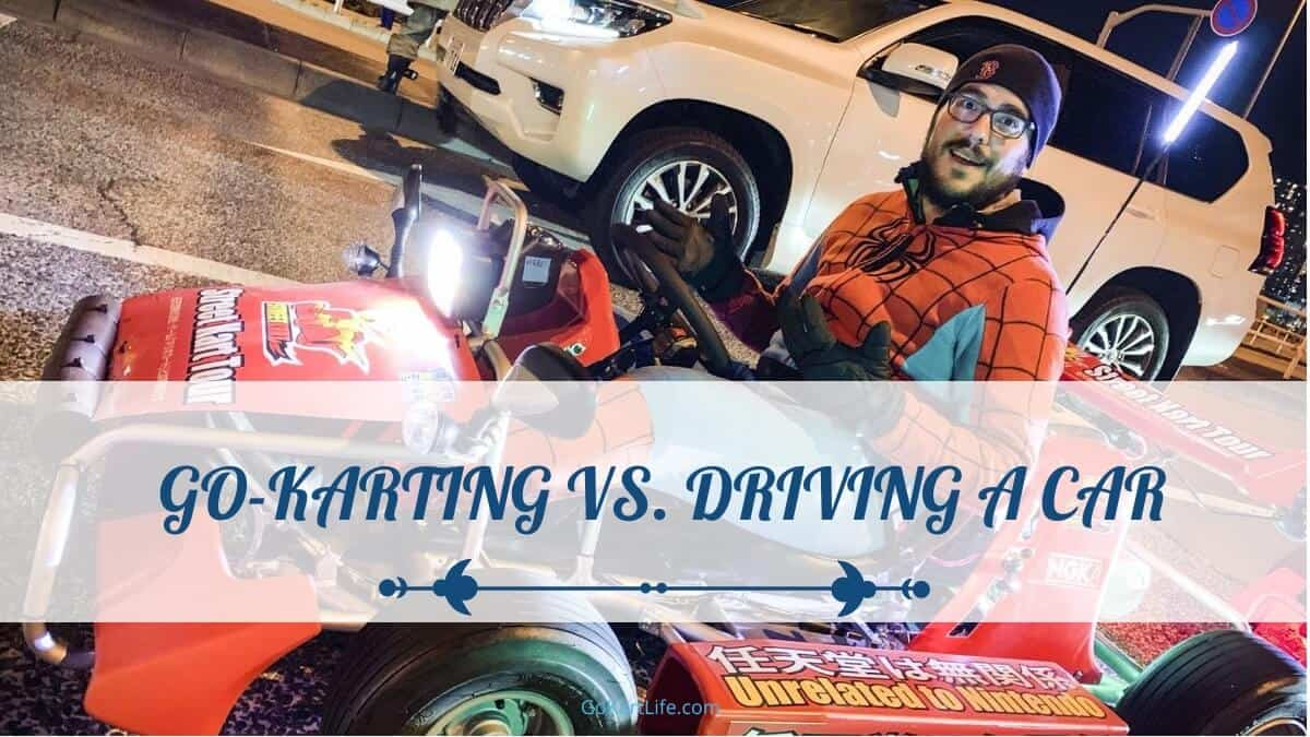 karting vs. driving