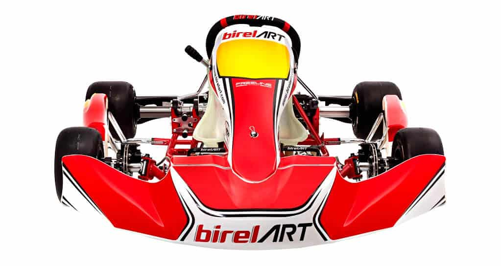 The Birel ART kart