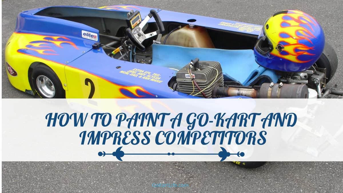 How to Paint a Go-Kart